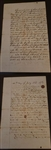 "Alexander Cartwright ""The Father of Baseball"" Signed Document Hall of Fame D. 1892"