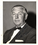 Keith Molesworth signed Photo Chicago Bears Star & First Coach of the Baltimore Colts Team