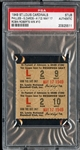 May 17, 1949 St. Louis Cardinals vs Phillies Ticket Stub Robin Roberts Career Win #10