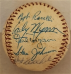 Circa 1961-65 Chicago White Sox Multi-Signed (22 AUTOS) Baseball w/ 3 Hall of Famers