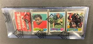 1975 Topps Football Unopened RACK pack BBCE sealed