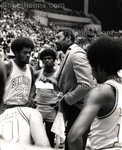 Wilt Chamberlain Coaching ABA San Diego Conquistadors Original TYPE I Photo