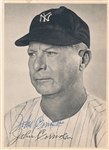 John Red Corriden Sr. Signed AUTO Photo Yankees Dodgers D. 1959
