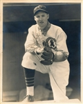 Hugh Casey Signed rookie 8x10 George Burke Photo to HOFer – Cubs Dodgers D. 1951