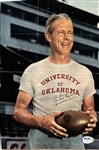Bud Wilkinson Signed AUTO Sport Magazine Photo Oklahoma Sooners PSA/DNA