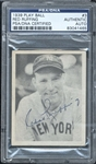 1939 Play Ball #3 Red Ruffing Signed baseball card PSA/DNA