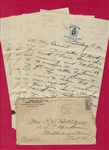 Dick Hoblitzell Signed Letter Babe Ruth's Red Sox roommate Content D.1962