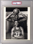 1989 Shaquille ONeal Unique Pre-Rookie TYPE 1 Original Photo at age 17 PSA/DNA LOA