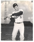 Brooks Robinson early 1960's Baltimore Orioles TYPE 1 Original Photo PSA/DNA LOA