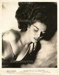 "Jane Russell ""The Outlaw"" George Hurrell Sexy Sneer Original TYPE 1 Photo PSA/DNA LOA"