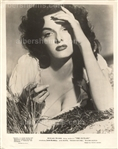 "Jane Russell ""The Outlaw"" George Hurrell Busty Hay Shot Original TYPE 1 Photo PSA/DNA LOA"