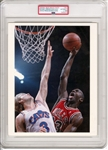 "1989 Michael Jordan & Craig Ehlo Before ""The Shot"" Original Type 1 Photo PSA/DNA"