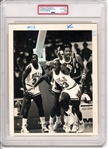 Rookie Era 1986 Michael Jordan Poked in the Eye Original Type 1 Photo PSA/DNA