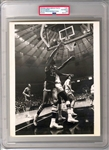 1969 Rookie Lew Alcindor Rookie Bucks Star Original TYPE I photo PSA/DNA LOA