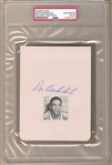 Don Barksdale 1st Black NBA All-Star 1948 Olympics Signed AUTO album page PSA/DNA