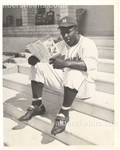 1947 Jackie Robinson at Spring Training in Cuba Original TYPE II photo