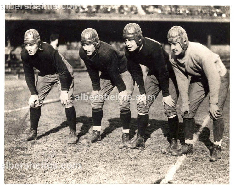 1925 Four 4 Horsemen of Notre Dame Football Vintage Press Photo Sport Magazine Archives