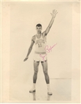 Jim Paxson Sr. Circa 1956-57 Minneapolis Lakers Team Issued TYPE 1 Signed AUTO photo