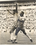 Pele & Clodaldo Celebrate a Goal for Brazil in the 1970 World Cup Original TYPE I photo
